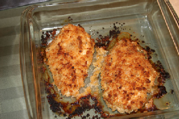 The Webster Kitchen: Parmesan Crusted Chicken | Webster Style Magazine