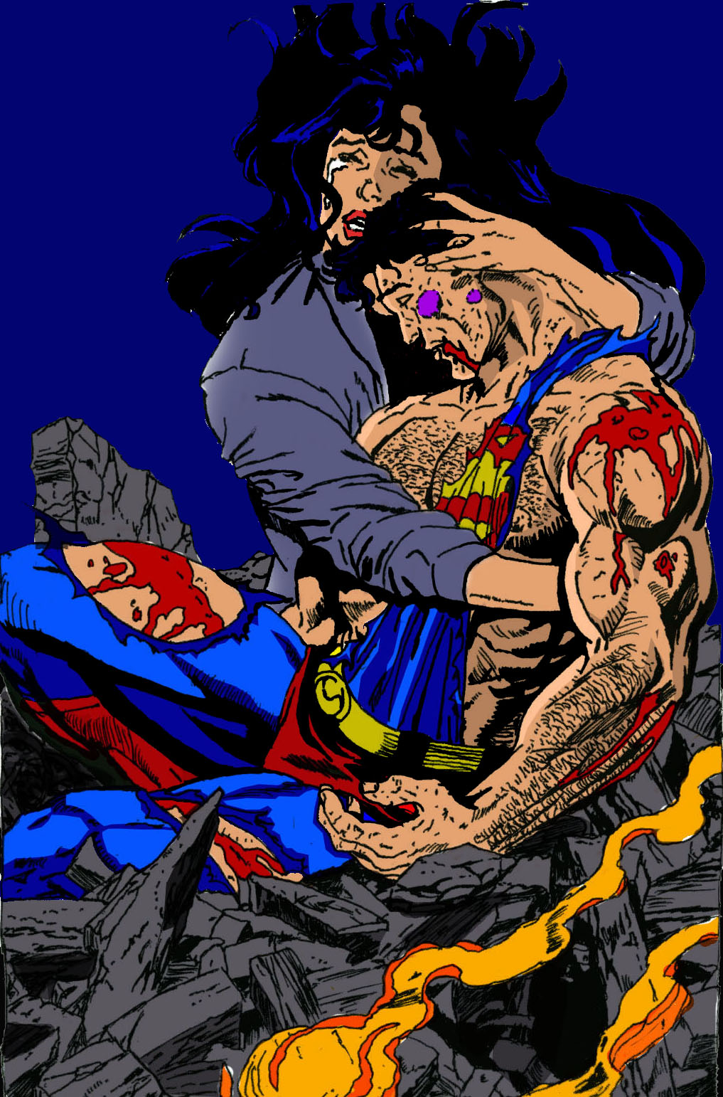 the death of superman comic book pdf