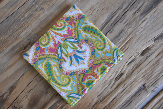 Spring Paisley Pocket Square