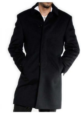 Wool/Cashmere 3/4 Coat