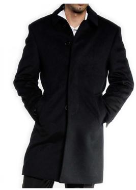 Wool/Cashmere 3/4 Coat