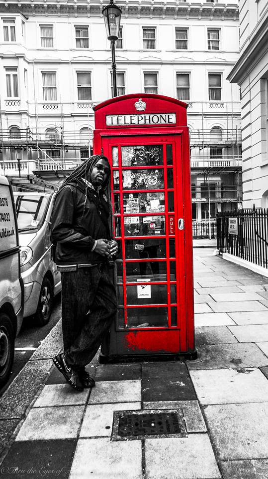 Nothing says London like their phone booths!